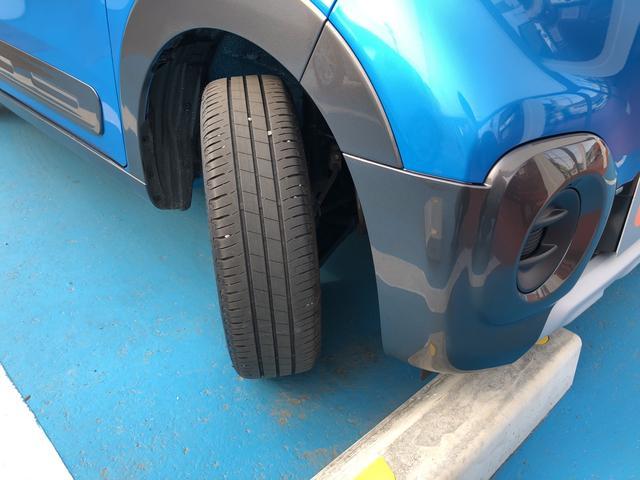 タイヤ溝もたくさんあります。