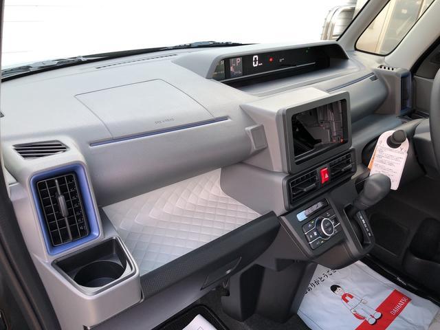 Xセレクション 4WD・LEDヘッドランプ・バックカメラ・両側スライドドア(片側電動)・ホイールキャップ・ベンチシート・キーフリー(34枚目)