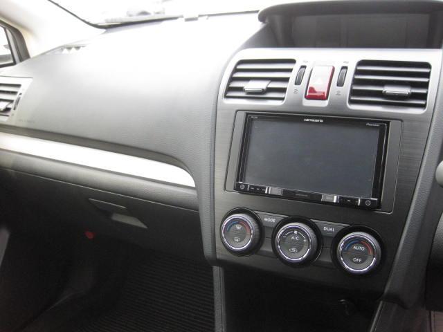 スバル インプレッサスポーツ 2.0i後期モデル 社外ナビTV アイドリングストップ