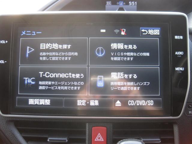 ZS 煌 トヨタセフテーセンス 9インチナビ フリップダウンモニター TV Bカメラ 両側自動ドア(10枚目)