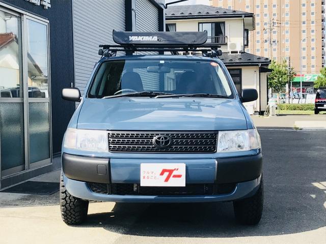 トヨタ プロボックスバン DXコンフォートパッケージ アルルブルー リフトアップ 四駆
