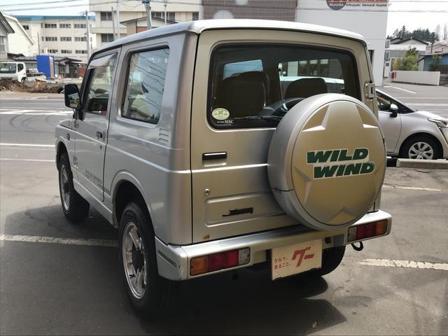ワイルドウインド 4WD ターボ CD AUX接続 軽自動車(5枚目)