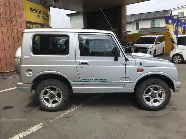 ワイルドウインド 4WD ターボ CD AUX接続 軽自動車(7枚目)