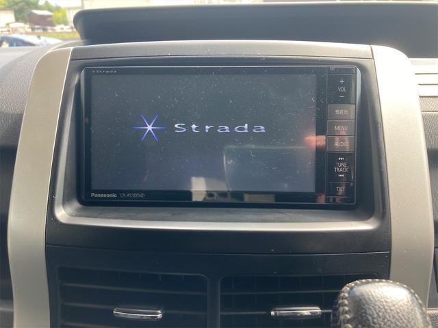 ZS 4WD パナソニックストラーダメモリーナビ フルセグTV バックカメラ CD DVD再生可 Bluetooth接続 スマートキー 純正16インチアルミ 左側電動スライドドア ETC 7人乗り(32枚目)
