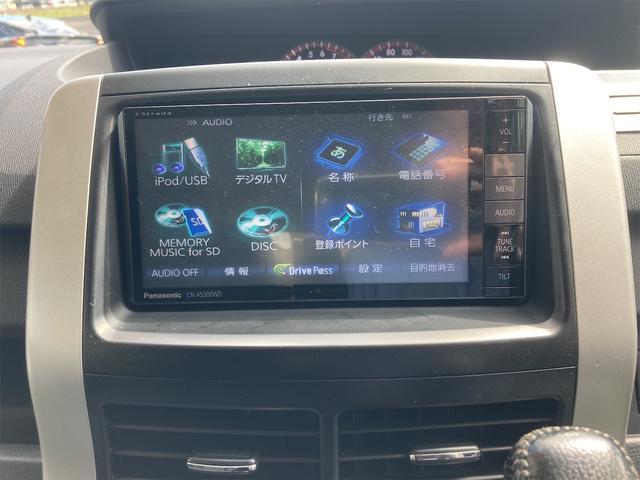 ZS 4WD パナソニックストラーダメモリーナビ フルセグTV バックカメラ CD DVD再生可 Bluetooth接続 スマートキー 純正16インチアルミ 左側電動スライドドア ETC 7人乗り(35枚目)