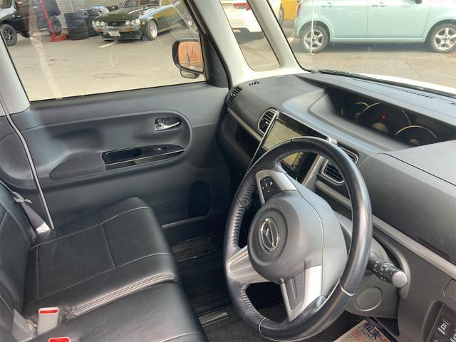 カスタムRS SA 4WD ターボ ワンオーナー 両側電動スライドドア パナソニックストラーダメモリーナビ フルセグTV CD DVD再生可能 バックカメラ エンジンスターター 14インチアルミ アイドリングストップ(22枚目)