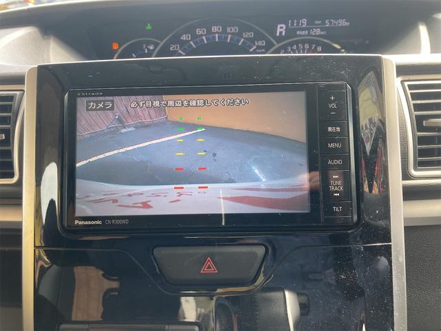 カスタムRS SA 4WD ターボ ワンオーナー 両側電動スライドドア パナソニックストラーダメモリーナビ フルセグTV CD DVD再生可能 バックカメラ エンジンスターター 14インチアルミ アイドリングストップ(36枚目)