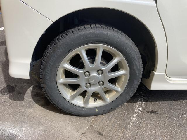 カスタムRS SA 4WD ターボ ワンオーナー 両側電動スライドドア パナソニックストラーダメモリーナビ フルセグTV CD DVD再生可能 バックカメラ エンジンスターター 14インチアルミ アイドリングストップ(47枚目)
