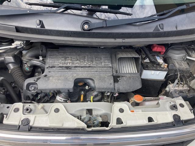 カスタムRS SA 4WD ターボ ワンオーナー 両側電動スライドドア パナソニックストラーダメモリーナビ フルセグTV CD DVD再生可能 バックカメラ エンジンスターター 14インチアルミ アイドリングストップ(51枚目)