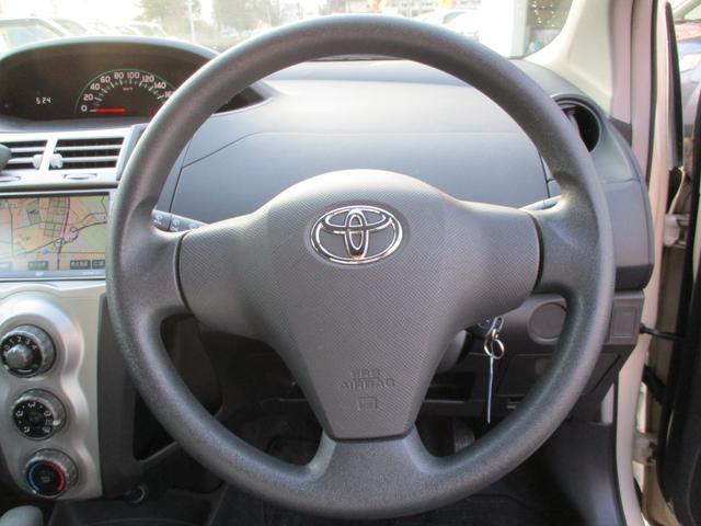 トヨタ ヴィッツ F キーレス ETC CD ナビ 1年間距離無制限保証付