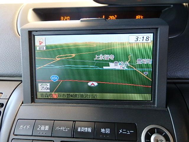 日産 ステージア 250RS FOUR 4WDターボ 純正DVDナビ キーレス