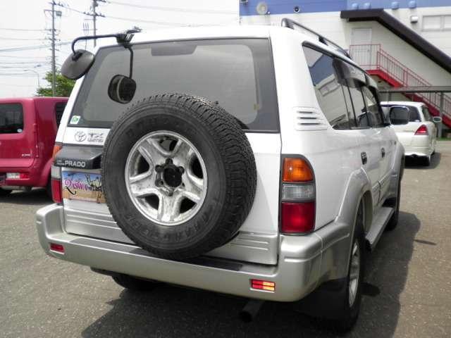 トヨタ ランドクルーザープラド TX 4WD ディーゼルターボ