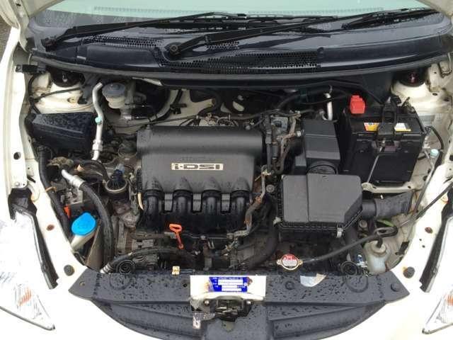 ホンダ フィットアリア 1.3A 4WD 純正CD フロアCVT