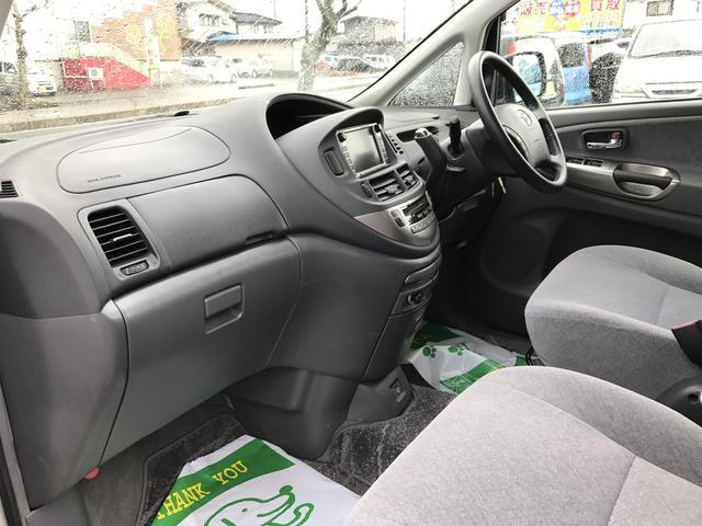 トヨタ エスティマハイブリッド 4WD 純正DVDナビ オートエアコン