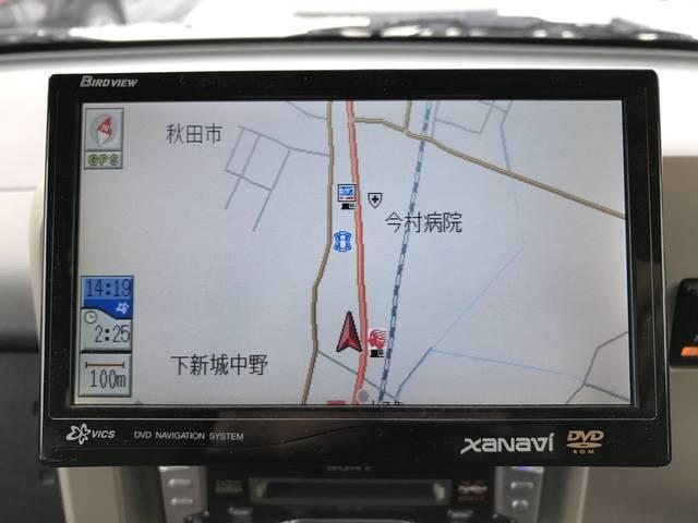 日産 キューブ SX 70th-II 4WD 社外DVDナビ 社外CDMD