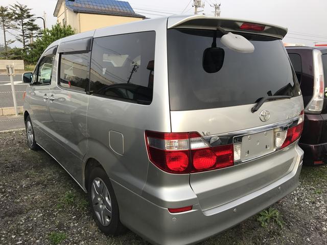 トヨタ アルファードG MX Lエディション 4WD 社外HDDナビ フルセグTV
