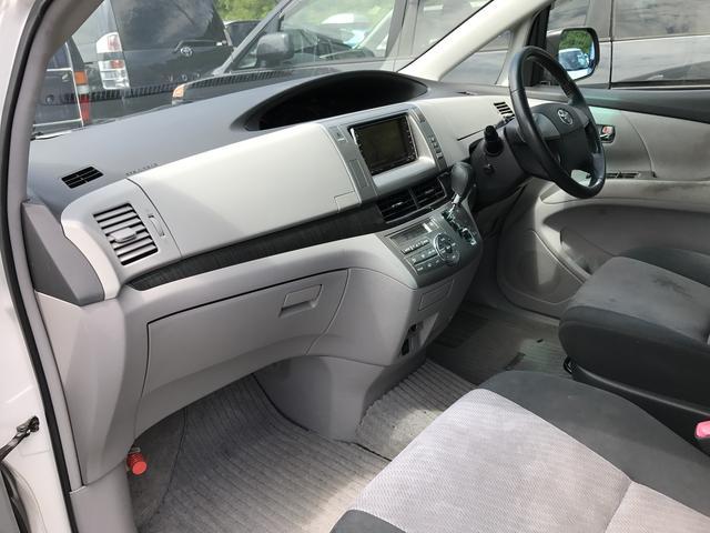 トヨタ エスティマ アエラス 4WD 左側パワースライドドア