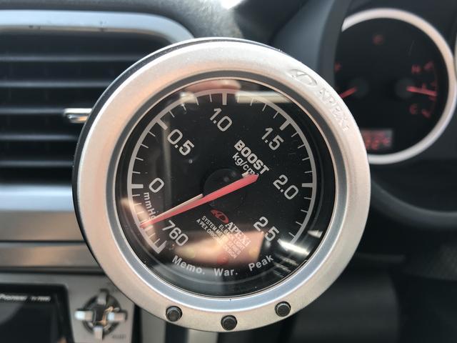 スバル インプレッサスポーツワゴン WRX AWD ターボ ブーストメーター 社外CDMD