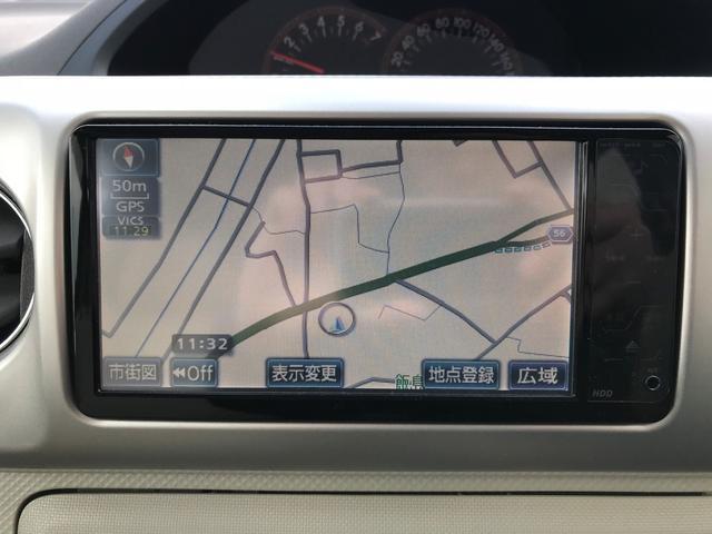 トヨタ ポルテ 150i 4WD 純正HDDナビ キーレス EGスターター