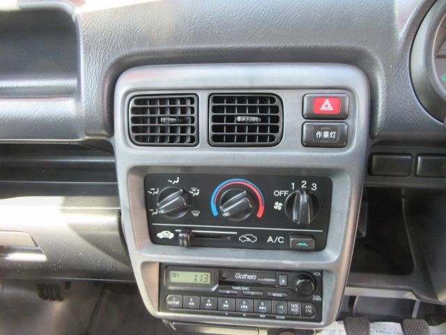 ホンダ アクティトラック ベースグレード 4WD 5速 エアコン パワステ付