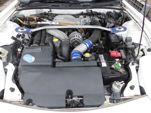 マツダ RX-7 タイプRバサースト 5MT 最終6型 車高調 社外マフラー