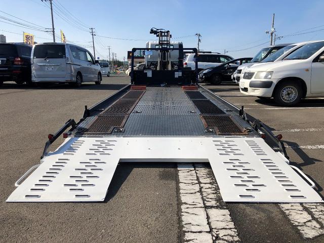 積載車 フルフラット ウインチ リモコン付 ETC(15枚目)