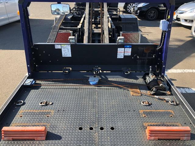 積載車 フルフラット ウインチ リモコン付 ETC(16枚目)