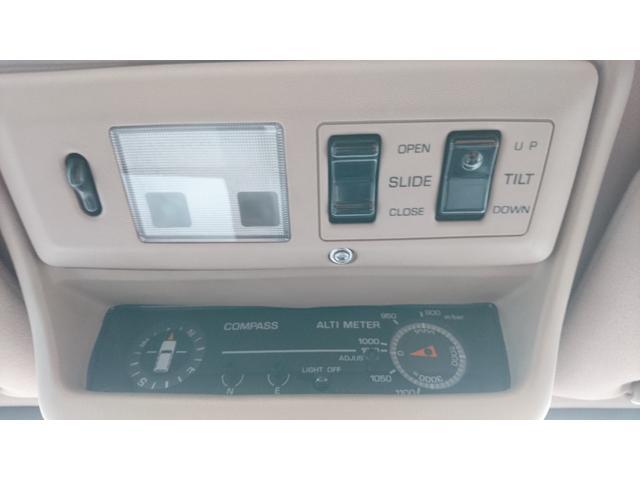 VXリミテッド リフトアップ サンルーフ 社外20インチAW BFグッドリッチMT クリスタルヘッドライト 社外テールレンズ 前席シートヒーター 社外リアスポイラー 1ナンバー(40枚目)