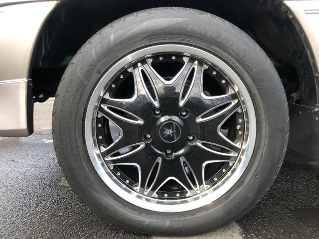 VXリミテッド フルタイム4WD フルエアロ 社外20インチAW クルーズコントロール 寒冷地仕様 シートヒーター リヤヒーター ミラーヒーター オートライト(12枚目)
