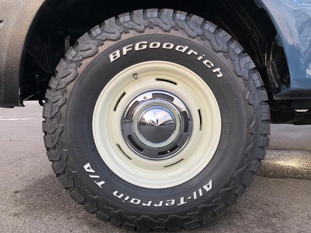 TXリミテッド フルタイム4WD 丸目換装 ナローボディ ツートン全塗装GSスタイル DEENクロスカントリー16インチ BFグッドリッチオールテレンタイヤ ETC(12枚目)