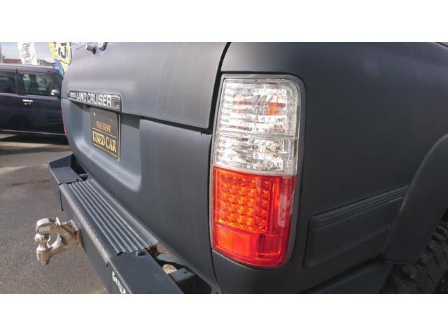 VXリミテッド 1ナンバー リフトアップ M/T16インチAW&A/Tタイヤ 社外LEDテール サンルーフ マットブラック全塗装 社外バンパー(29枚目)