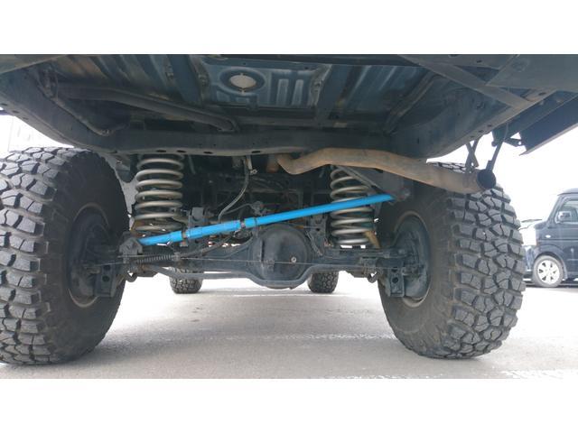 VXリミテッド 1ナンバー リフトアップ M/T16インチAW&A/Tタイヤ 社外LEDテール サンルーフ マットブラック全塗装 社外バンパー(31枚目)