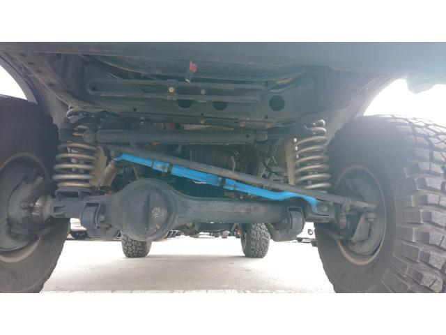 VXリミテッド 1ナンバー リフトアップ M/T16インチAW&A/Tタイヤ 社外LEDテール サンルーフ マットブラック全塗装 社外バンパー(32枚目)