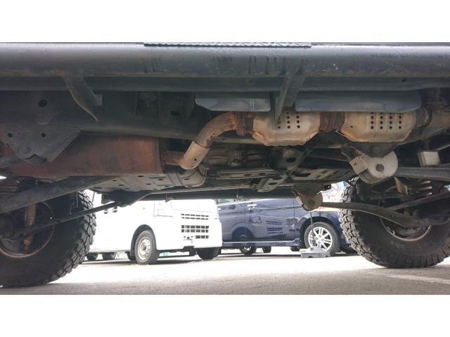 VXリミテッド 1ナンバー リフトアップ M/T16インチAW&A/Tタイヤ 社外LEDテール サンルーフ マットブラック全塗装 社外バンパー(34枚目)