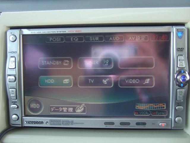 ケンウッドHDDナビ&ワンセグTV!ミュージックサーバー!DVDビデオ!