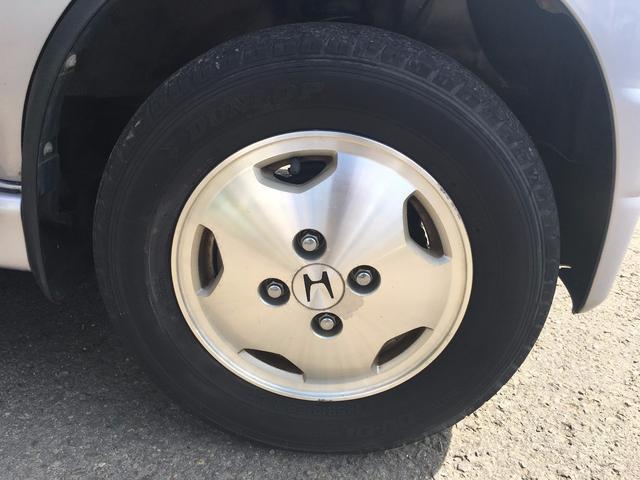 ホンダ バモス デラックス 4WD キーレス 純正アルミマットバイザー付