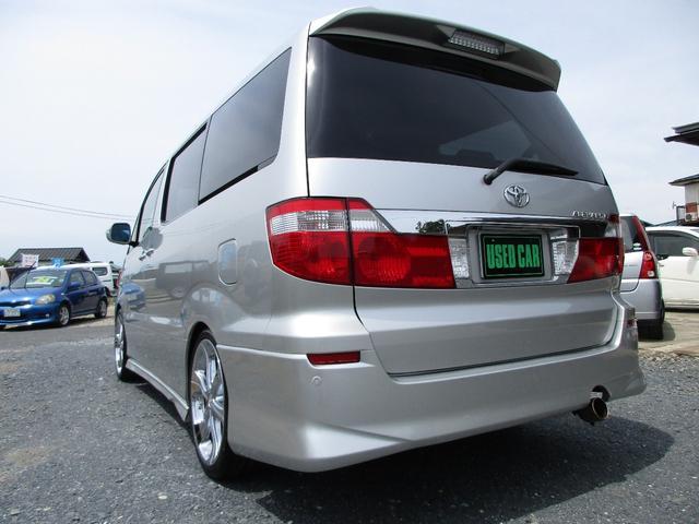 トヨタ アルファードG AX Lエディション 左パワスラドア HDDナビ 車高調