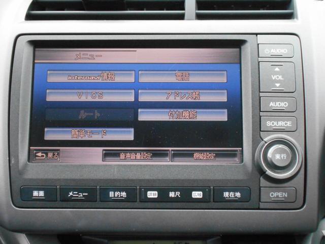 ホンダ ストリーム X 純正HDDナビ 電動格納ミラー