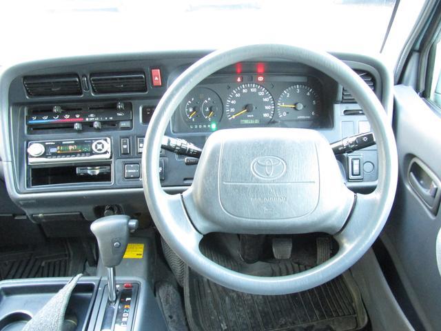 トヨタ レジアスエースバン ロングスーパーGL Tベルト交換済 4WD ディーゼル