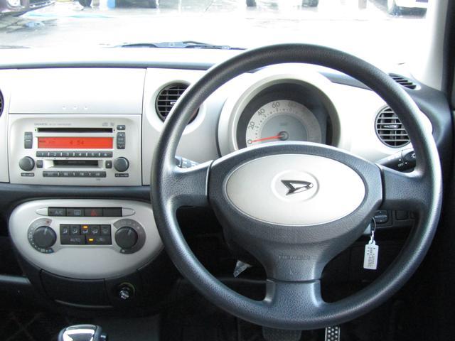 ダイハツ ミラジーノ X フルタイム4WD キーレス 4速フロアオートマ