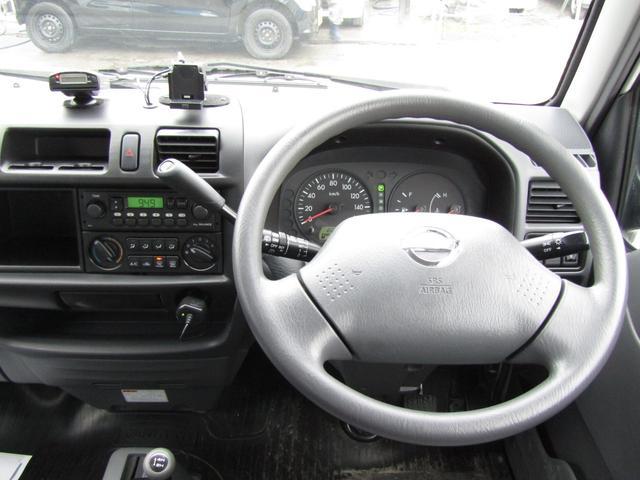日産 バネットバン DX パートタイム4WD ETC Tチェーン式