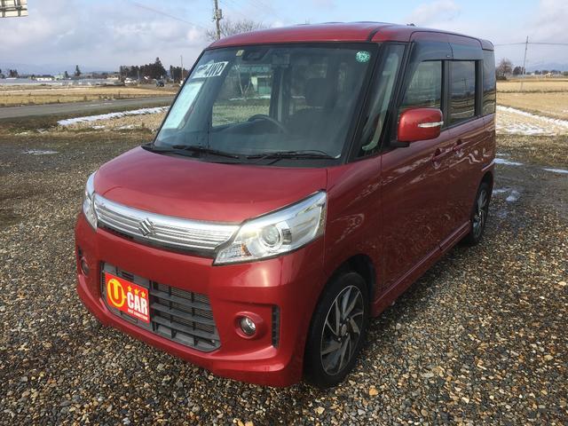 「スズキ」「スペーシアカスタム」「コンパクトカー」「福島県」の中古車7