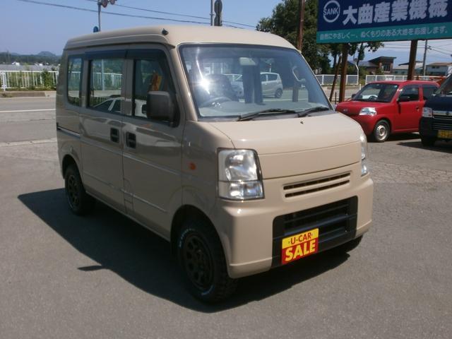 「スズキ」「エブリイ」「コンパクトカー」「秋田県」の中古車4