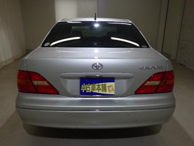 トヨタ セルシオ B仕様 eRバージョン 黒革 サンルーフ ナビ ETC