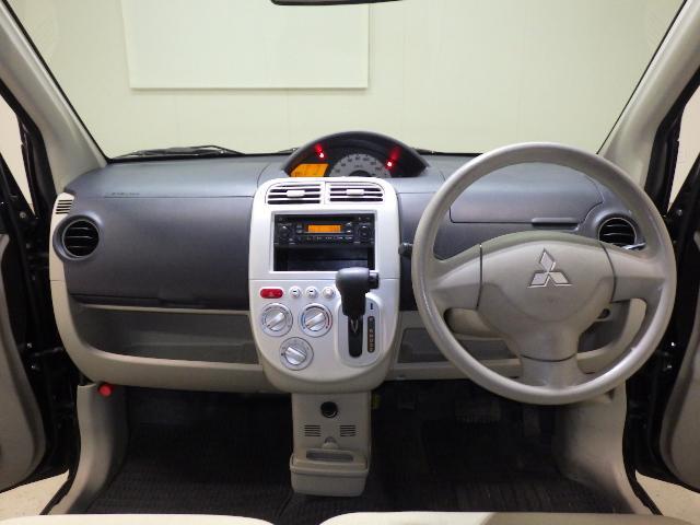 三菱 eKワゴン M 新品ポータブルナビ TV キーレス CD ベンチシート