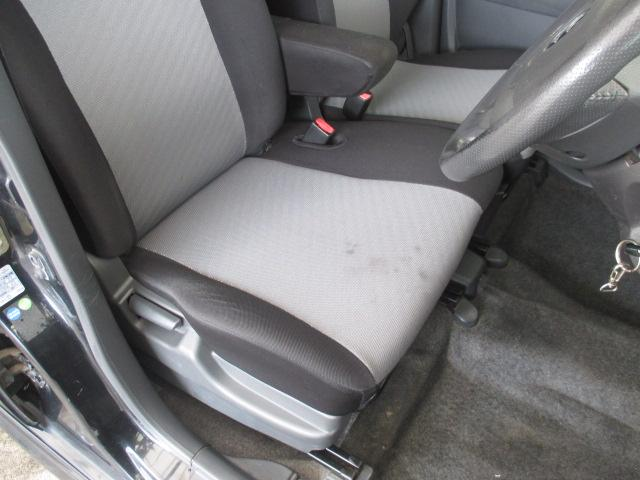 運転席シート座面に多少のシミが見られます。