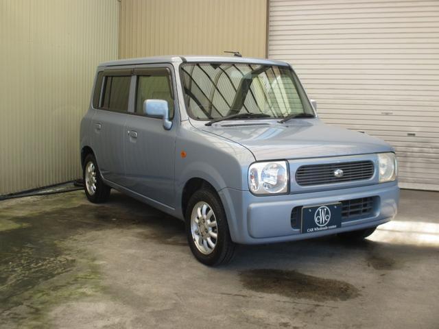 X 4WD シート・ミラーヒーター ETC 純正13インチアルミホイール 純正CD・MD キーレス(3枚目)