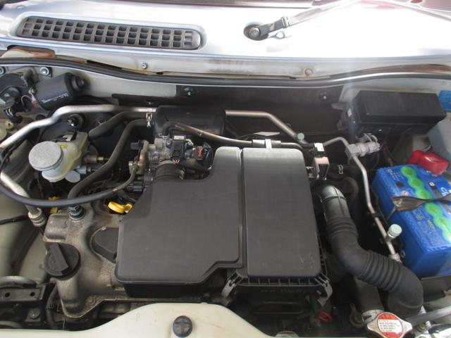 X 4WD シート・ミラーヒーター ETC 純正13インチアルミホイール 純正CD・MD キーレス(28枚目)