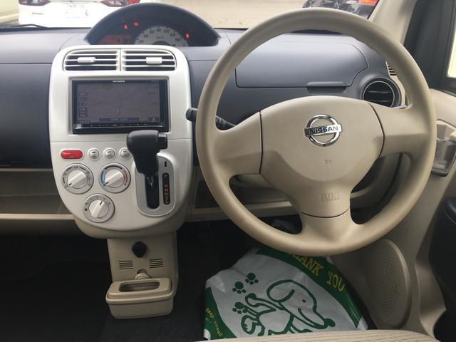 日産 オッティ S FOUR 社外SDナビ CD キーレス シートヒーター