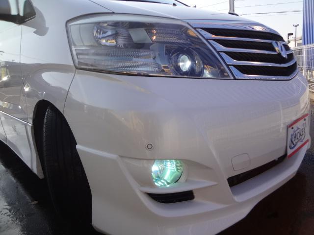 トヨタ アルファードG AS 両側パワスラRSR車高調LEDテールHDDナビ後期型